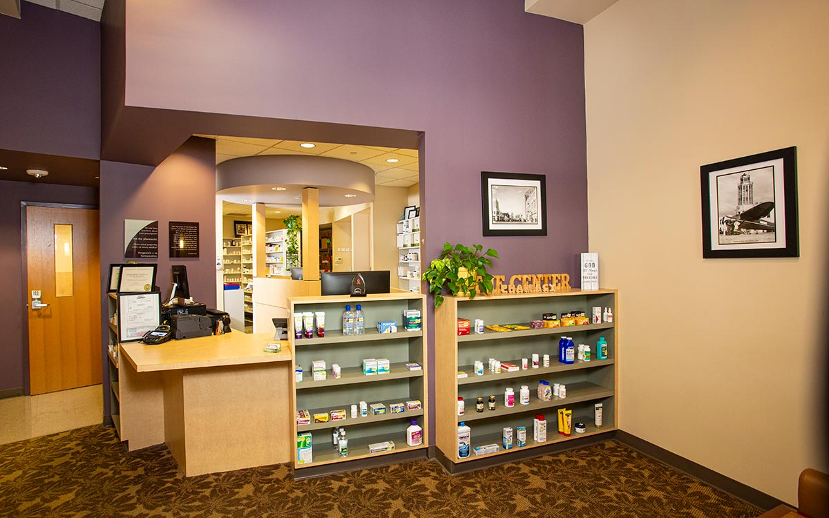 Photo of our pharmacy, where we provide top cancer care medicines